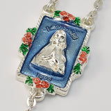 ROSARIES - Lourdes Silver Plated Rosary