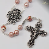 ROSARIES - Mary's Motherly Love Collection Silver Plated Rosary