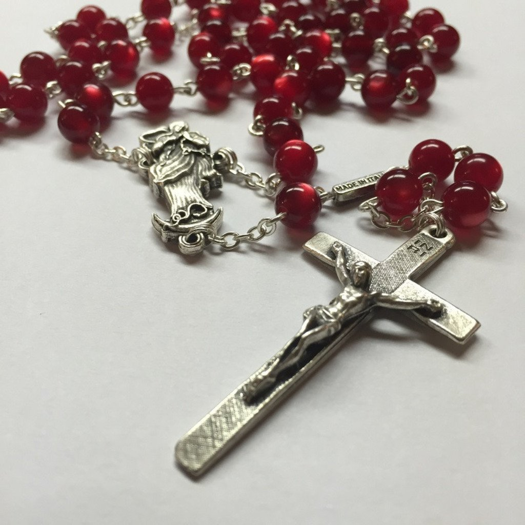 Our Lady Undoer of Knots Red