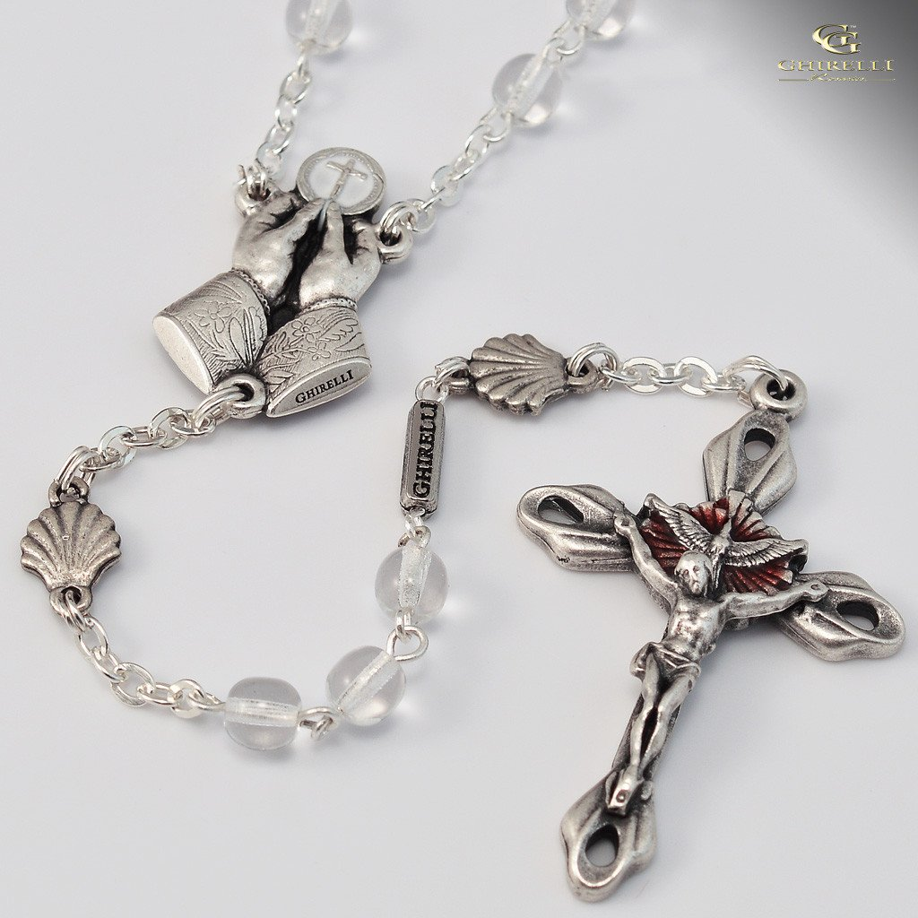 RCIA silver plated Rosary