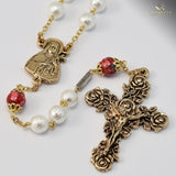 ROSARIES - St. Therese Of Lisieux Gold Plated Rosary