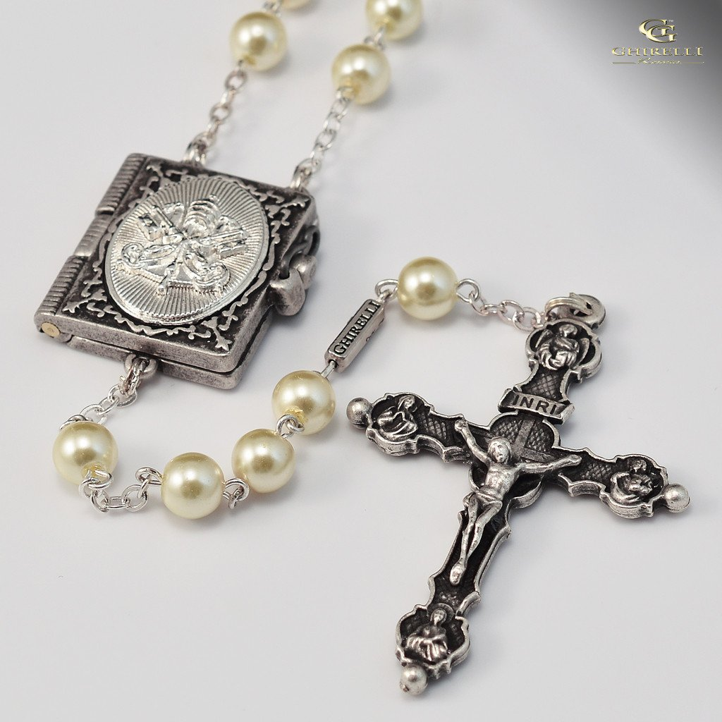 Successors to Saint Peter Silver plated Rosary