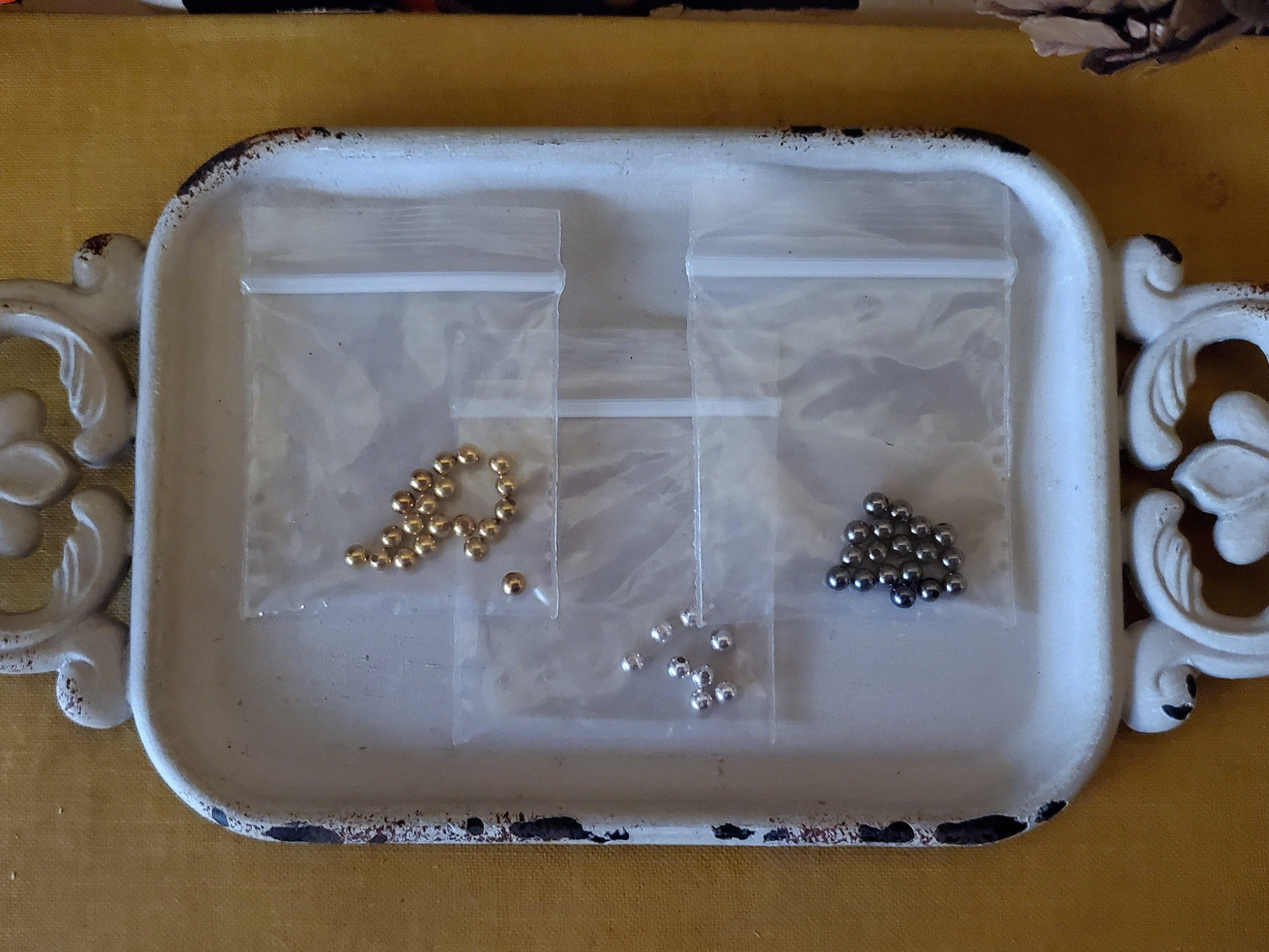 Half Drilled End Bead Lot