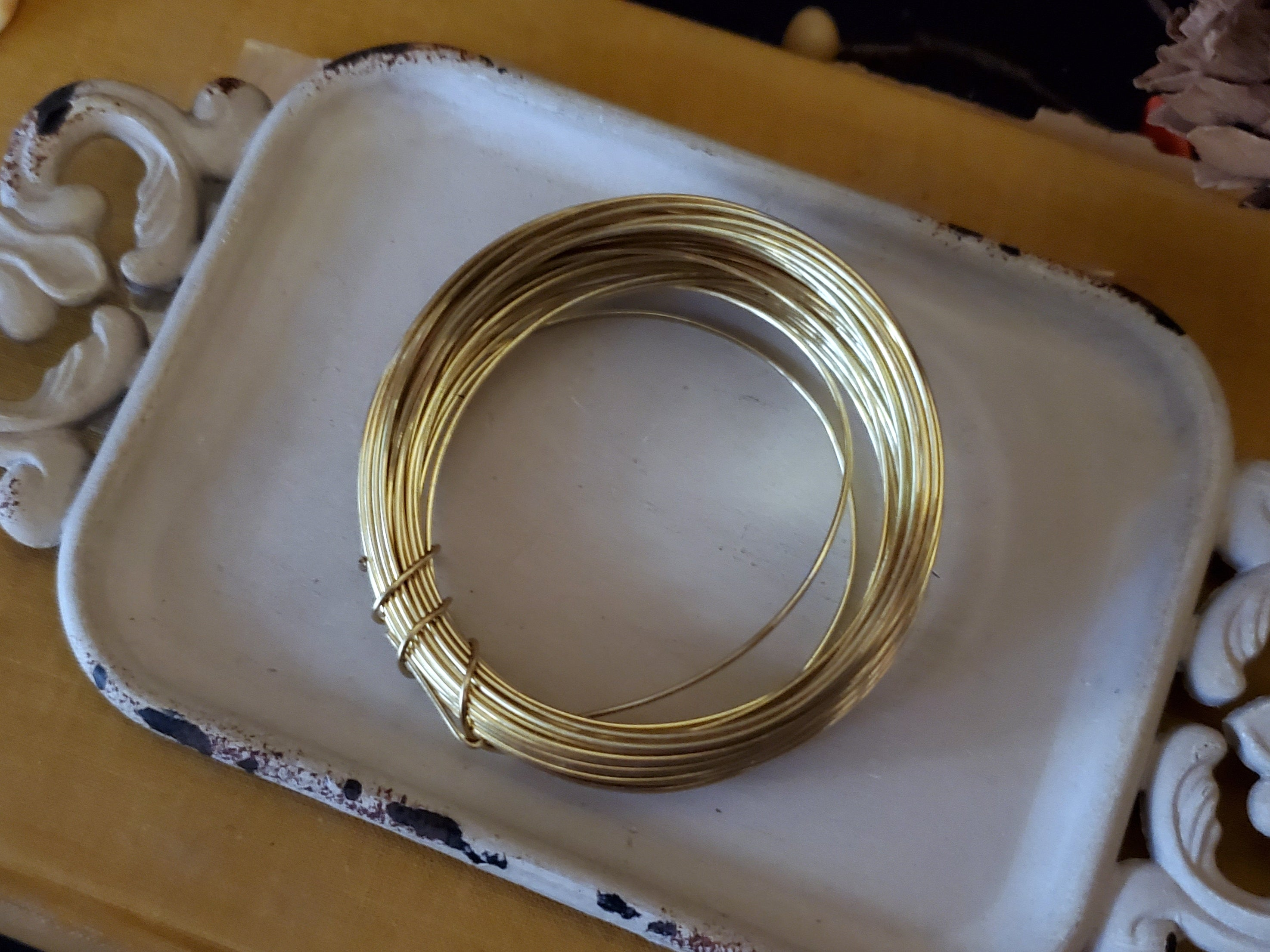 Gold Colored 20g Wire