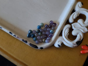 Stone Sphere Bead Lot