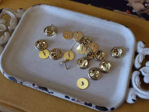 Gold And Silver Pin Lot