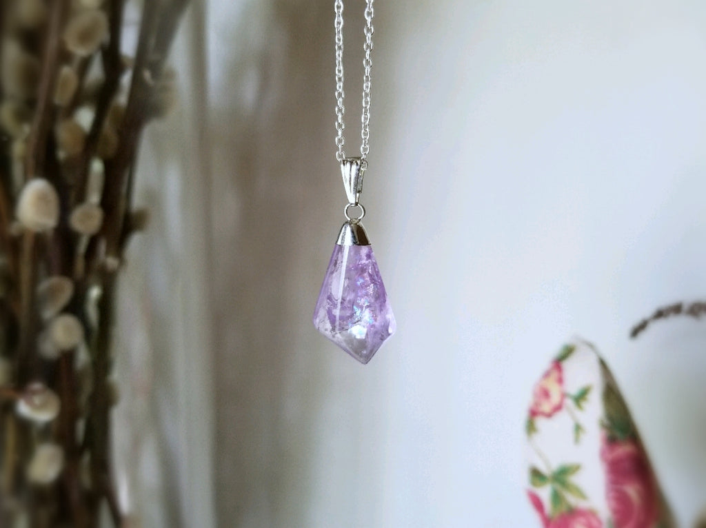 Mini Amethyst Necklace