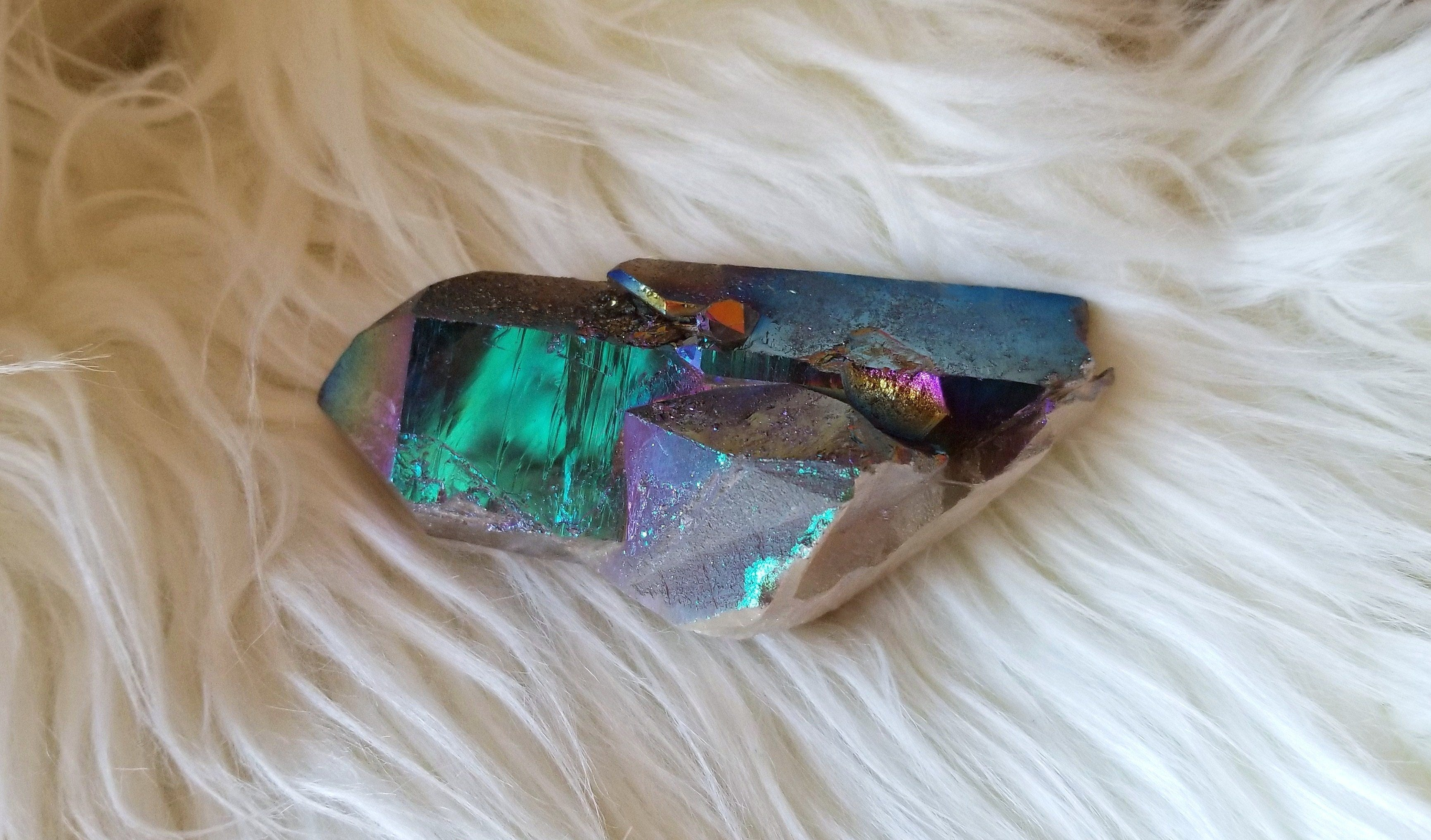 Titanium Quartz Point