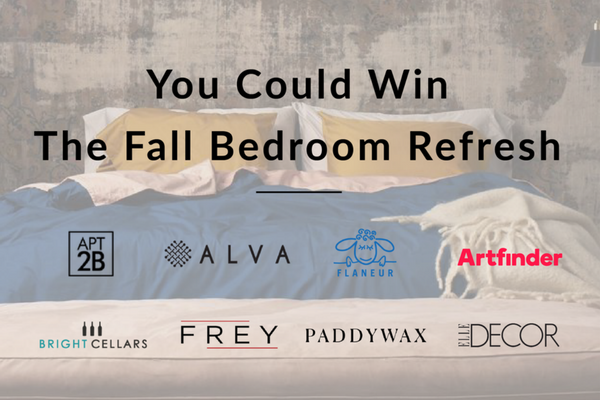 Giveaway: The $2100+ Fall Bedroom Refresh Giveaway is in Full Swing.