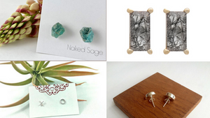 My 15 Favourite Every Day Earrings by Independent Artisans