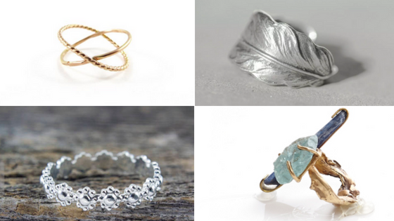My Top 16 Favourite Stacking Rings by Independent Artisans