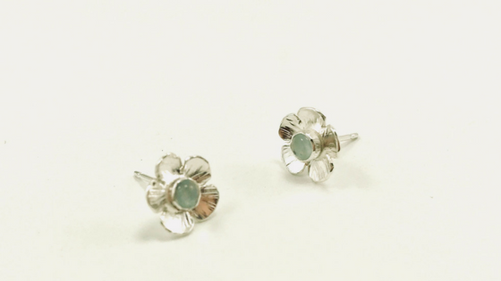 Inside the Devi Studio: Flower Earrings