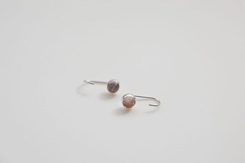 5mm J-Hook Earrings