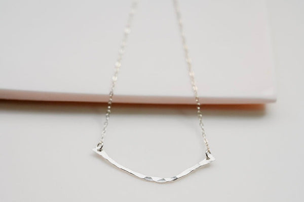 The silver branch necklace