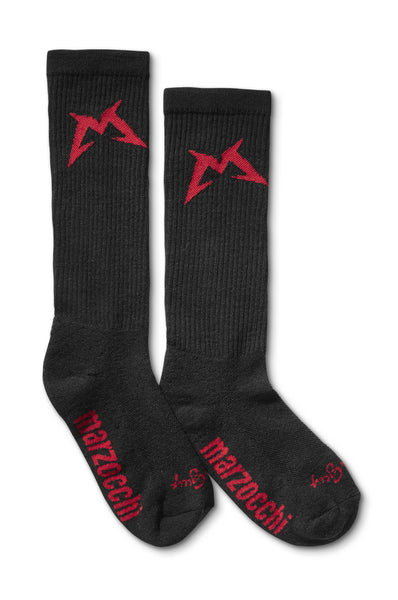 Marzocchi Wool Sock Black 1-big
