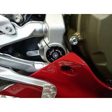 CNC Racing Lower Frame Plug Kit for Ducati V4 / 1299 / 1199 / 959 / 899 Panigale