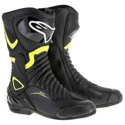 Alpinestars - SMX-6 v2 Vented Boot - BLACK/YELLOW FLUO VENTED