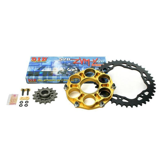 AFAM SUPERLITE RS8 Alloy Quick Change Chain and Sprocket Kit - 520 Pitch