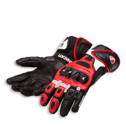 98104209 - Speed Air C1 Glove Red / Wht / Blk