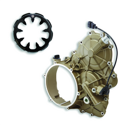 96080051AA - MAGNESIUM REMOVABLE ENGINE SIDE CLUTCH COVER STREETFIGHTER V4