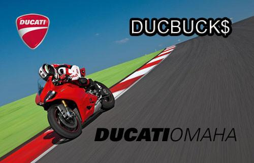 Ducati Omaha eGift Card