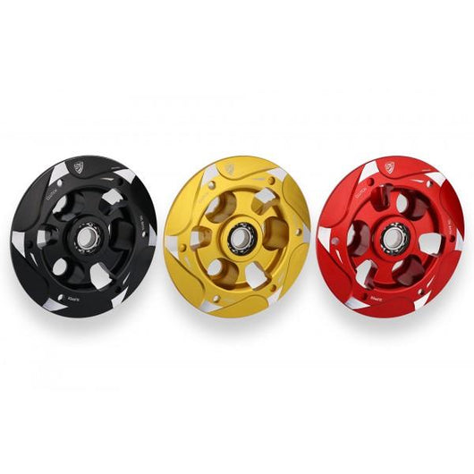 CNC Racing BI-Color Wet Clutch Pressure Plate for the Ducati Panigale 1299/1199/959 Superleggera XDiavel Diavel (2013-2015) Multistrada 1200 Monster 1100 Evo/1200 and Hypermotard 939