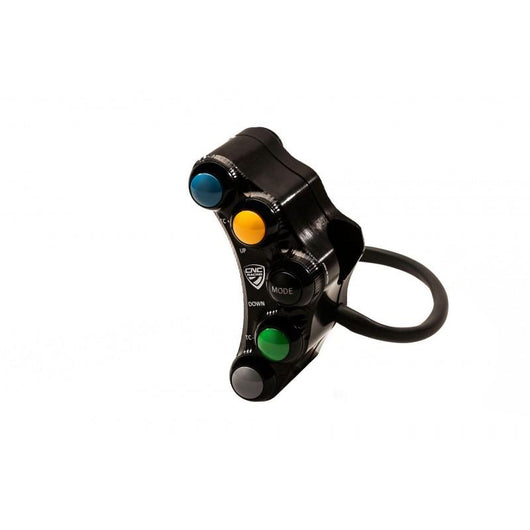 CNC Racing Left Hand Side Billet 7 Button RACE Switch for Ducati Panigale V4 / S / Speciale
