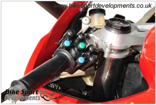 BSD 8 button (7 Function) LH Race Switch - Panigale V4