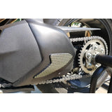 CNC Racing Carbon Fiber / Kevlar Swingarm Cover for Ducati Panigale V4 / S / Speciale
