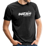 Team Ducati Omaha Unisex Tri-Blend T-Shirt - heather black