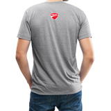 Team Ducati Omaha Unisex Tri-Blend T-Shirt - heather gray