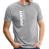 Ducati Omaha Upward Unisex Tri-Blend T-Shirt - heather gray