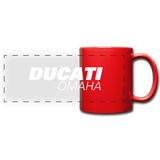 Ducati Omaha Coffee Mug - red