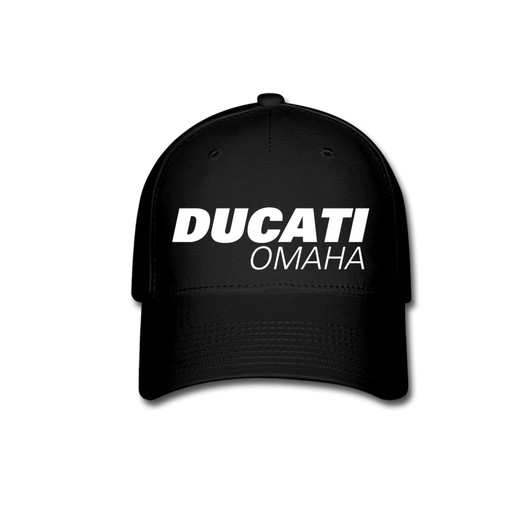 Ducati Omaha Fitted Cap - black