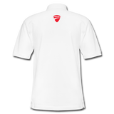 Ducati Omaha Light Color Polo Shirt - white