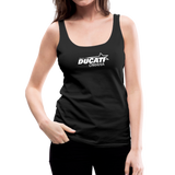 Team Ducati Omaha Women's Premium Tank Top - black