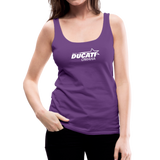 Team Ducati Omaha Women's Premium Tank Top - purple