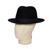 Navy Blue Burlington Trilby