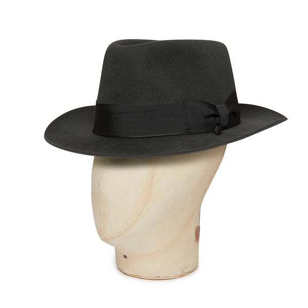 Elephant Grey Grosvenor Fedora