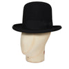 Black Tall Homburg Trilby Hat