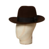 Sable Brown Indi Fedora Hat