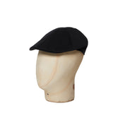 Plain Black Roma Cap
