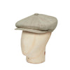 Cream Cotton/Polyester Mix Gatsby Cap