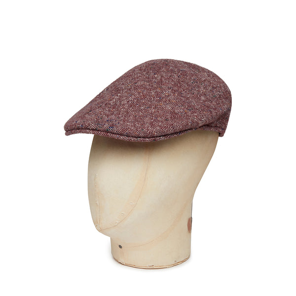 Cream Twill Wool Roma Cap