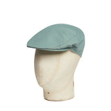 Meadow Green Cotton Flat Cap