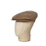 Cream, Red, Green & Yellow Houndstooth Check Toni Cap