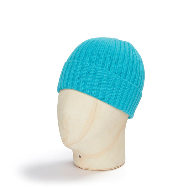 Turquise Cashmere Beanie