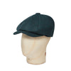 Ocean, Mallard and Blue Made In England Woollen Gatsby Cap