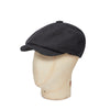 Charcoal Thornproof Made In England Woollen Gatsby Cap