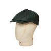 Fern Herringbone Made In England Woollen Gatsby Cap